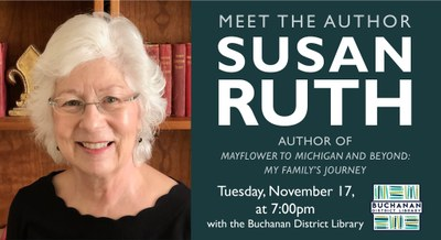 Meet the Author: Susan Ruth