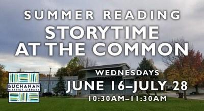 Preschool Storytime @ The Common