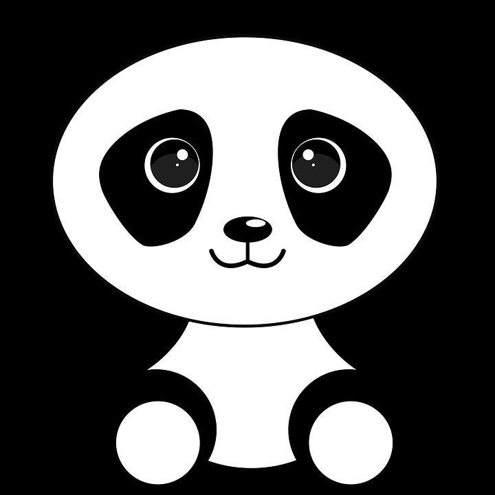 illustrated panda